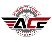 ACE LOGO for achievement in career